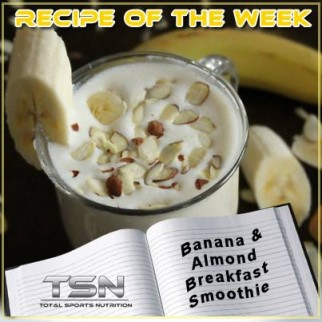 Banana-and-Almond-Breakfast-Smoothie
